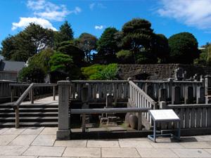 赤穂義士墓地 写真